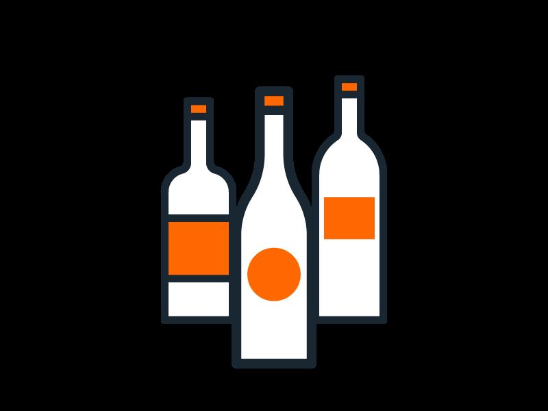 Étiquette pour bouteille