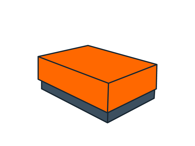 Boîte coffret rectangle