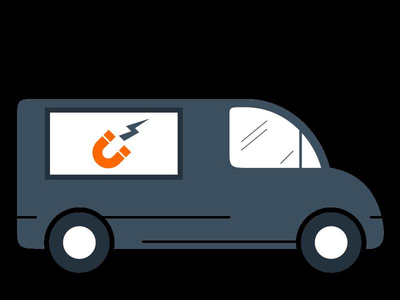 Plaque magnétique (voiture)