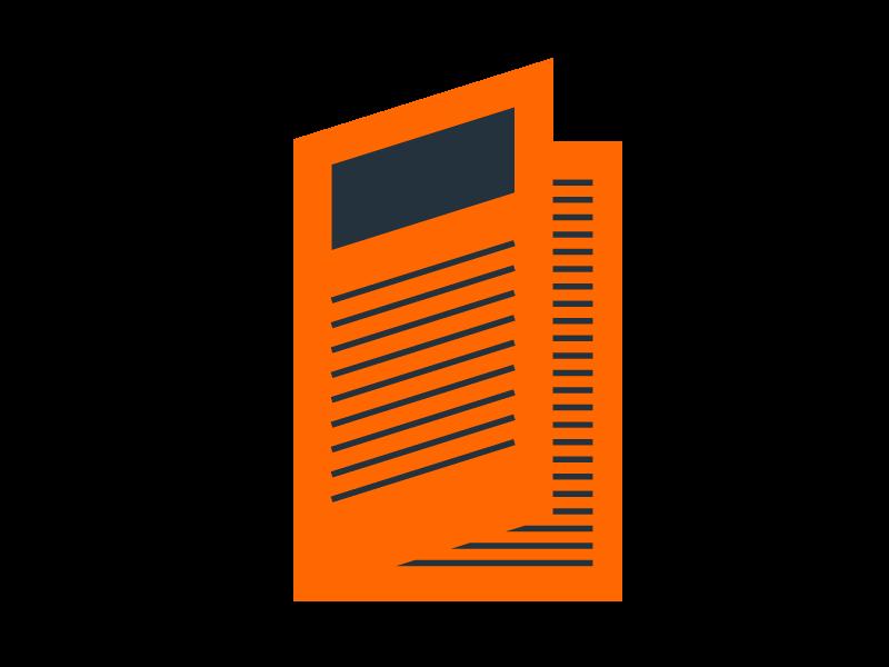 Dossier papier couleur