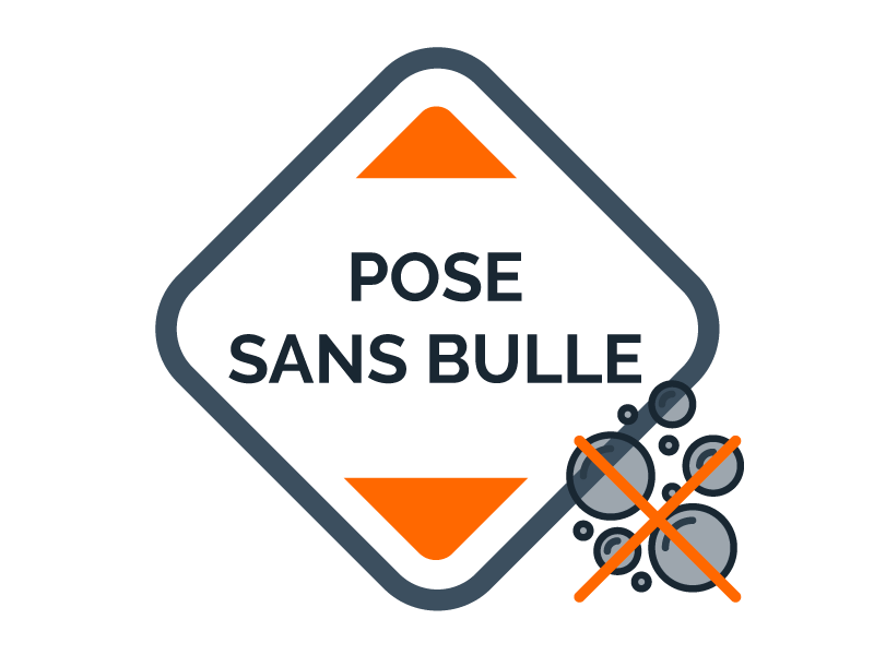 Pose sans bulle