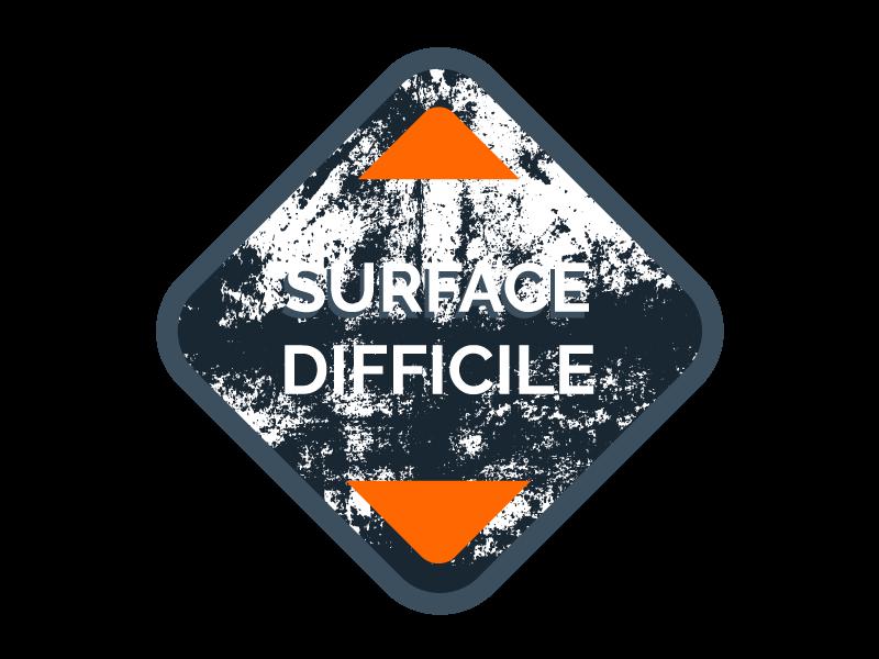Surface difficile