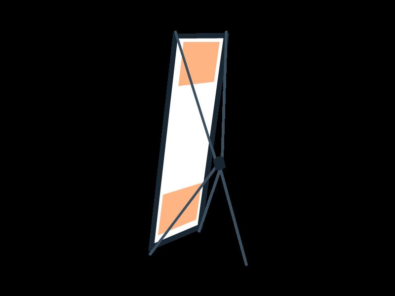 X et L Banner
