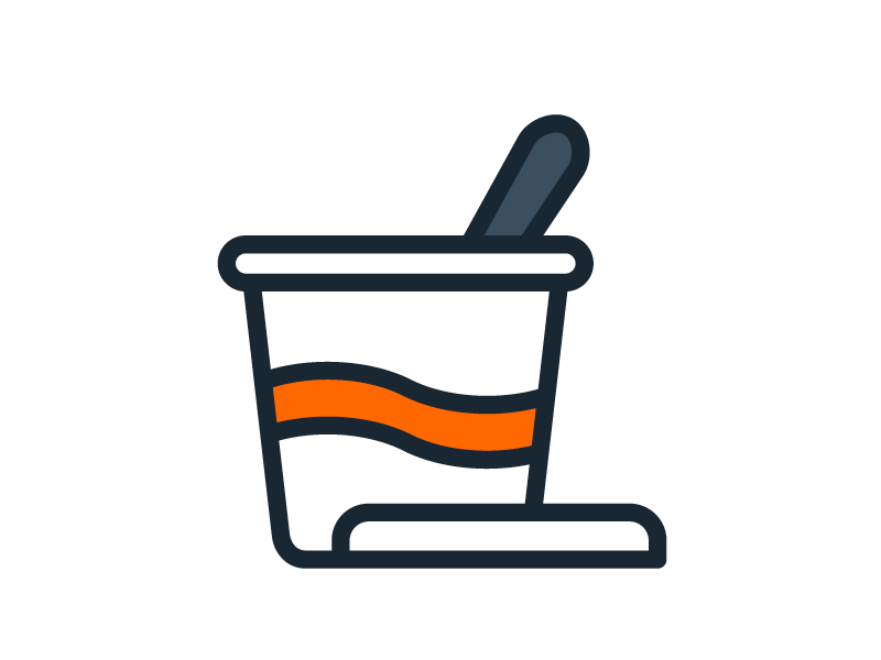 Pot à glace