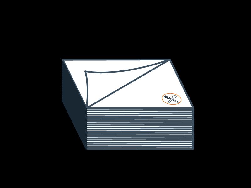 Serviette en papier
